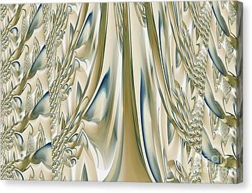 Ballroom Gown Canvas Print by Maria Urso