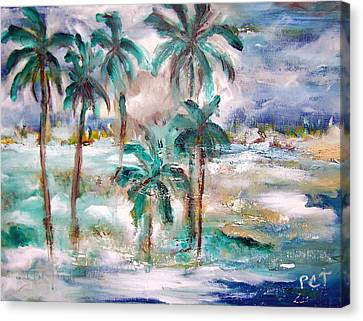 Patricia Taylor Canvas Print - Balmy Breezy Days by Patricia Taylor