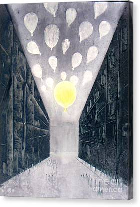 Baloon 10 Canvas Print by Abhijit Das