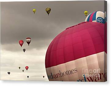 Baloons Canvas Print by Angel  Tarantella