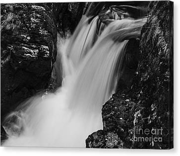 Balquhidder Falls Canvas Print by Michael Canning