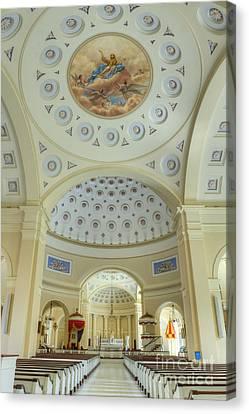 Baltimore Basilica Canvas Print by John Greim