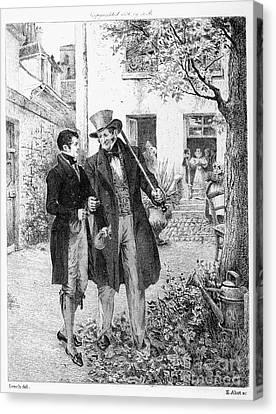 Balzac Canvas Print - Balzac: Le P�re Goriot by Granger