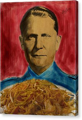 Bami Goering Canvas Print by Nop Briex