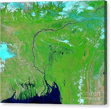 Bangladesh Canvas Print by Nasa