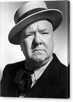 Bank Dick, The, W.c. Fields, 1940 Canvas Print by Everett