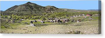 Bannack Pioneer Ghost Town - Montana Canvas Print by Daniel Hagerman