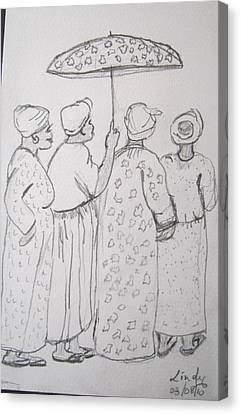 Baptist Ladies Canvas Print by Jennylynd James