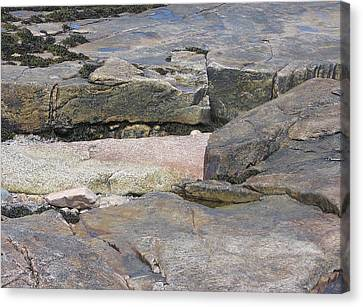 Bar Harbor Rocks Canvas Print