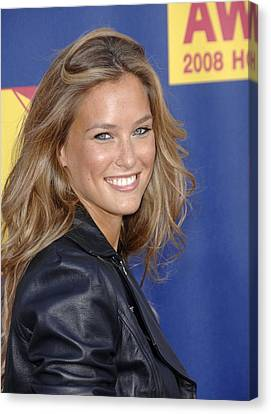 Bar Refaeli At Arrivals For Mtv Video Canvas Print
