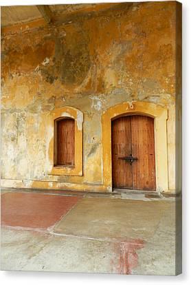 Bar The Doors Canvas Print