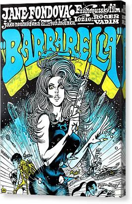 Barbarella, Jane Fonda, 1968 Canvas Print by Everett