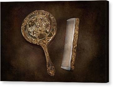 Barber - I'm So Pretty Canvas Print by Mike Savad