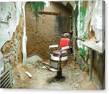 Barber's Cell Canvas Print