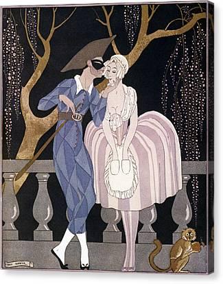 Ball Gown Canvas Print - Barbier: Artful Servant by Granger