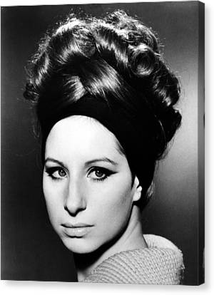 Encbr Canvas Print - Barbra Streisand (b.1942) by Granger