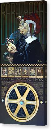 Barbra Yagavitchnaya Canvas Print by Patrick Anthony Pierson
