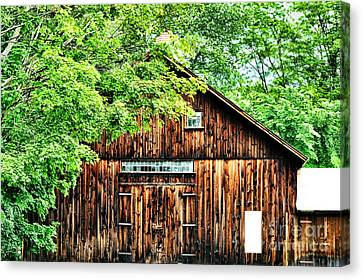 Barn Canvas Print by HD Connelly