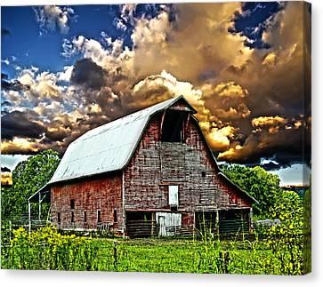 Barn Storming Canvas Print by Randall Branham