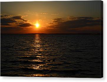 Barnegat Bay Sunset Canvas Print
