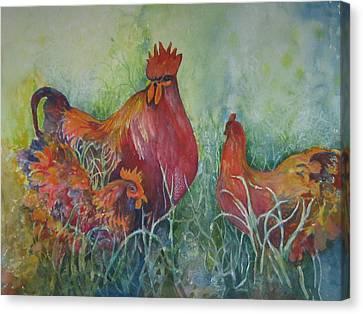Barnyard Boss Canvas Print