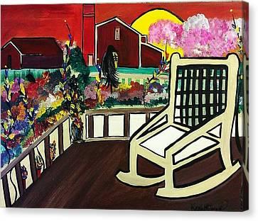 Barnyard Canvas Print