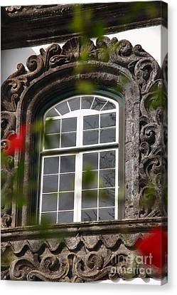 Baroque Style Window Canvas Print by Gaspar Avila