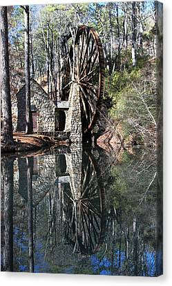 Barry College Mill Canvas Print by Rick Mann