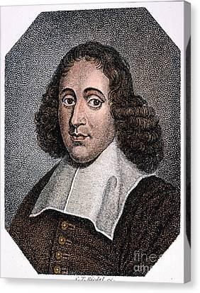 Baruch Spinoza (1632-1677) Canvas Print by Granger