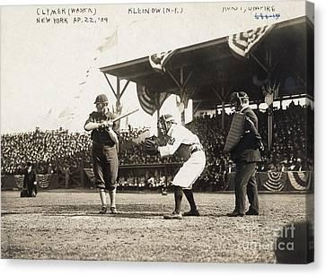 Baseball Game, 1909 Canvas Print