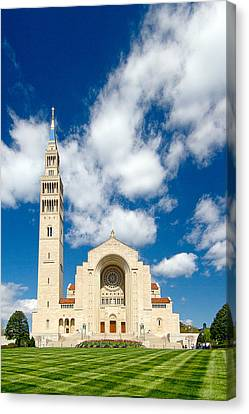 Basilica Of The National Shrine Of The Immaculate Conception Canvas Print