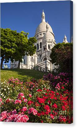Basilique Du Sacre Coeur Canvas Print by Brian Jannsen