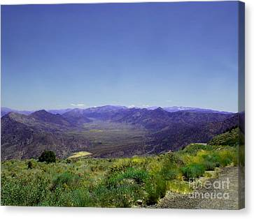 Basin - Canyon 9000 Feet   Canvas Print by The Kepharts