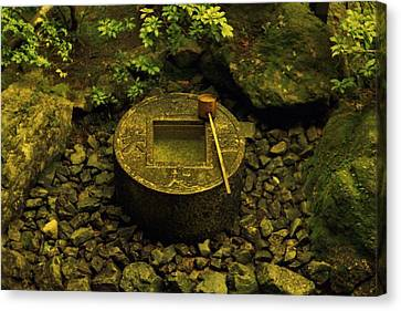Canvas Print featuring the photograph Basin To Purify And Humble by Craig Wood