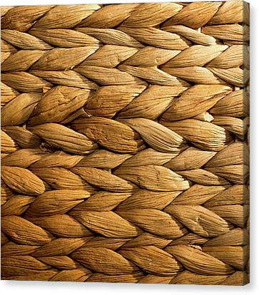 Basket Weave Canvas Print by Peter Chadwick LRPS