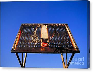 Basketball Net Canvas Print