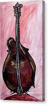 Bass Canvas Print by Amanda Dinan