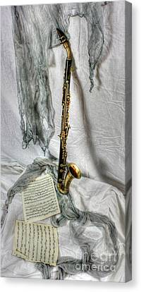 Bass Clarinet Canvas Print by Dan Stone