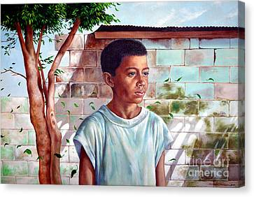 Bata The Filipino Child Canvas Print