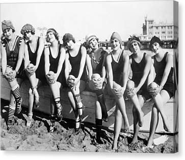 Bathing Beauties, 1916 Canvas Print by Granger