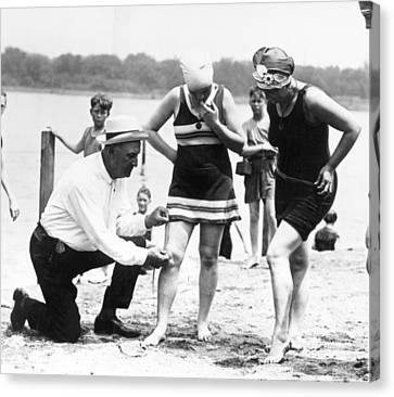 Bathing Suits, 1922 Canvas Print by Granger