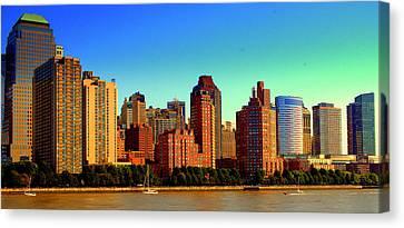 Battery Park City New York Ny Canvas Print