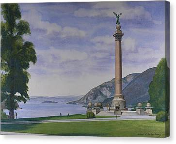 Battle Monument  Canvas Print by Glen Heberling