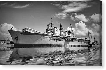 Battleships Canvas Print by Sharon Lisa Clarke