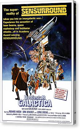 Battlestar Galactica, Theatrical Canvas Print