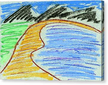 Bay Canvas Print by Hakon Soreide