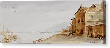 Bayside Village Canvas Print