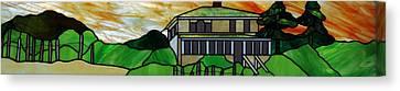 Beach House Canvas Print by Jane Croteau