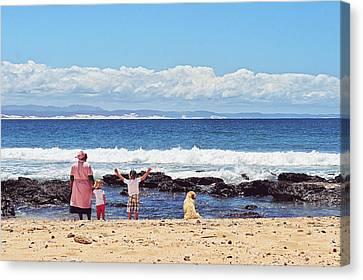 Beach Live Canvas Print