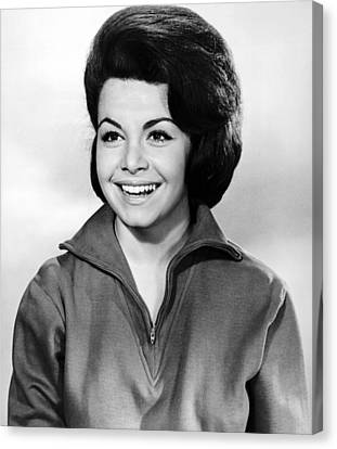 1963 Movies Canvas Print - Beach Party, Annette Funicello, 1963 by Everett